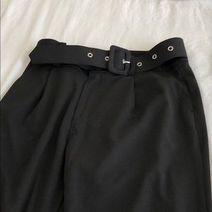 Women's Tall Cigarette Pants with Belt
